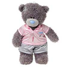 "10"" Dress & Play Tatty Teddy Me to You Bear with Sports Outfit"