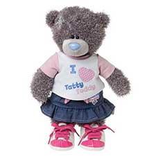 "10"" Dress & Play Tatty Teddy Me to You Bear with Outfit"