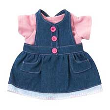 Tatty Teddy Dress Up Me to You Pinafore Dress