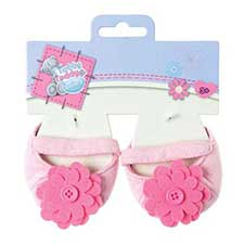 Tatty Teddy Dress Up Me to You Pink Flower Shoes