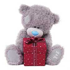 "12"" With Present Gift Box Me to You Bear"