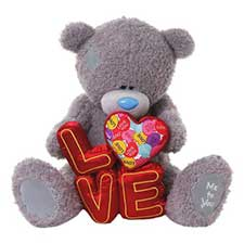 "28"" Holding Love Letters Giant Me to You Bear"