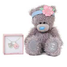 "7"" Me to You Bear and Necklace Gift Set"