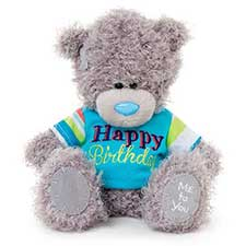"7"" Happy Birthday T-shirt Me to You Bear"