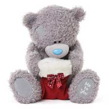 "20"" Holding Christmas Stocking Me to You Bear"