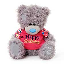"8"" Happy Birthday T-shirt Me to You Bear"