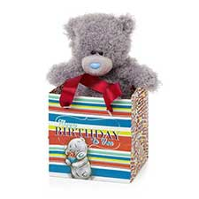 "5"" Happy Birthday Me to You Bear in Gift Bag"