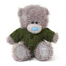 "7"" Me to You Bear Wearing Chunky Cardigan"