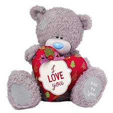 "24"" I Love You Padded Heart Me to You Bear"