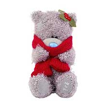 "4"" Me to You Bear with Scarf and Holly"