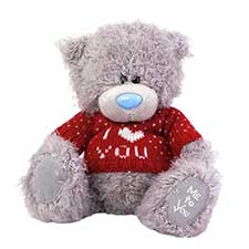 "8"" I Love You Red Heart Jumper Me to You Bear"