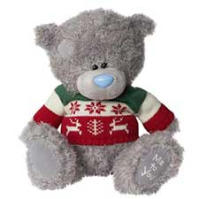 "10"" Wearing Christmas Jumper Me to You Bear"
