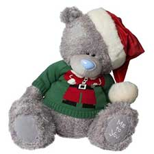 "20"" Wearing Santa Jumper and Hat Me to You Bear"