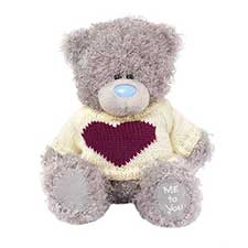 "7"" Heart Jumper Me to You Bear"