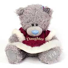 "8"" Daughter Dress Me to You Bear"