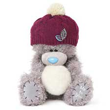 "10"" Bobble Hat & Snowball Me to You Bear"