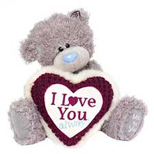 "10"" I Love You Always Heart Me to You Bear"