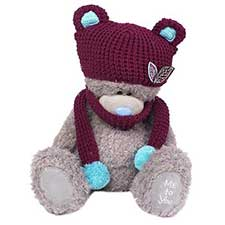 "16"" Me to You Bear wearing Hat and Scarf"