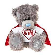 "7"" You Are My Hero Me to You Bear With Cape"