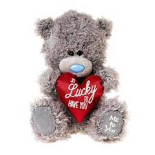 "7"" So Lucky to Have You Padded Heart Me to You Bear"