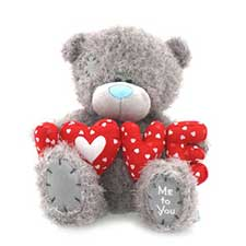 "10"" Holding Padded Love Letters Me to You Bear"
