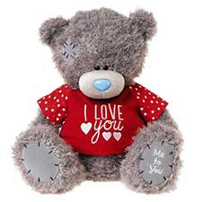 "16"" I Love You T-shirt Me to You Bear"