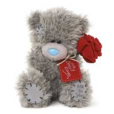 "7"" For The One I Love Rose Me to You Bear"
