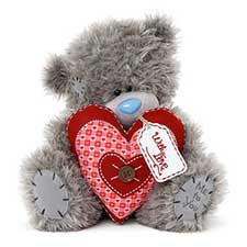 "24"" Padded Heart Me to You Bear"