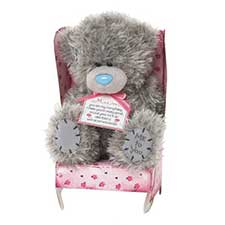 "7"" Mum Me to You Bear Sat In Chair"