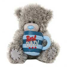 "7"" Me to You Bear With Best Dad Plush Mug"