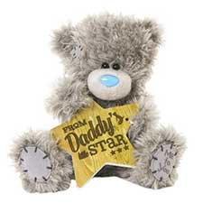 "7"" From Daddys Little Star Me to You Bear"
