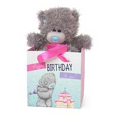 "5"" Me to You Bear In Birthday Gift Bag"