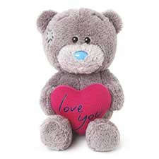"4"" Love You Padded Heart Me to You Bear"