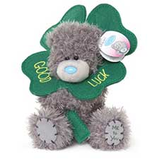 "5"" Good Luck Clover Me to You Bear"