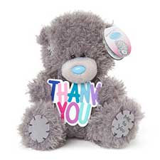 "5"" Thank You Plaque Me to You Bear"