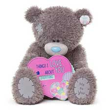 "28"" Things I Love About You Spinner Me to You Bear"