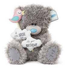 "12"" Little Birdie Birthday Me to You Bear"