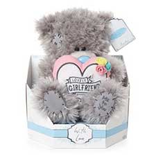 "9"" Special Girlfriend Padded Heart Me to You Bear"