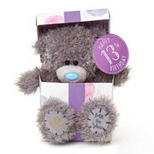 "7"" 13th Birthday Me to You Bear In Gift Box"