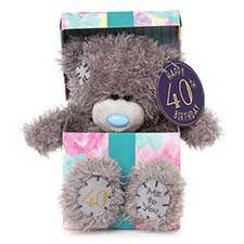 "7"" 40th Birthday Me to You Bear In Gift Box"