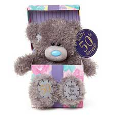 "7"" 50th Birthday Me to You Bear In Gift Box"