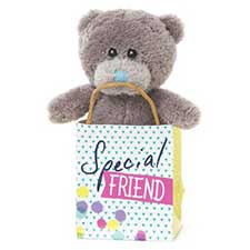 "3"" Me to You Bear In Special Friend Gift Bag"