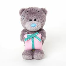 "4"" Holding Present Me to You Bear"
