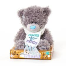 "7"" Friends Always & Forever Scarf Me to You Bear"