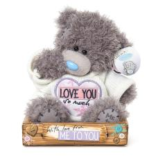 "7"" Love You So Much Jumper Me to You Bear"