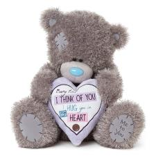 "20"" Heart Cushion Me to You Bear"