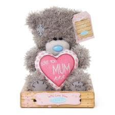 "7"" Mum Padded Heart Me to You Bear"