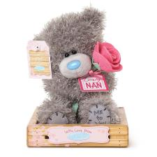 "7"" Nan With Rose Me to You Bear"