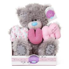 "9"" Padded Letters Mum Me to You Bear"