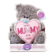 "9"" Mummy Padded Heart Me to You Bear"